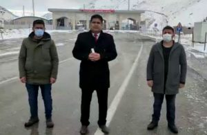 CHP'li Başkan A Haber'e gümrük kapısından yanıt verdi