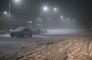 Kar ve sis, Denizli'de ulaşımı olumsuz etkiledi