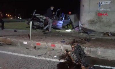 Feci kaza… 1 ölü 2 yaralı