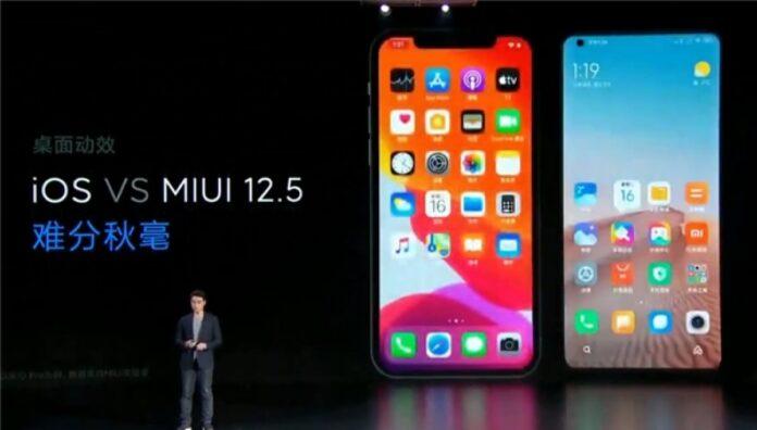MIUI 12.5 sürümünü hangi modeller alacak