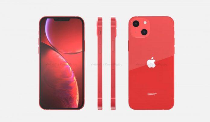 Kırmızı renkli Apple iPhone 13 sızdırıldı