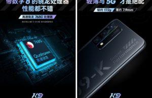 Oppo K9 5G hangi yongayı kullanacak