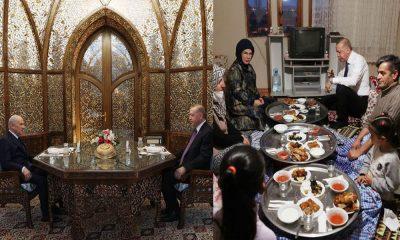 İlk iftara gelen tepkilerden sonra küçük ortakla baş başa iftar