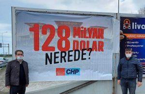 CHP'li il ve ilçe başkanına soruşturma: Başkanlarımız alnı açık başı dik onur ve şerefleriyle savcılıkta peki ya '#128MilyarDolarNerede?'
