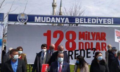 """Mudanya'da '128 milyar dolar nerede' hareketliliği: """"Bir de 'yargı çalışmıyor' derler"""""""