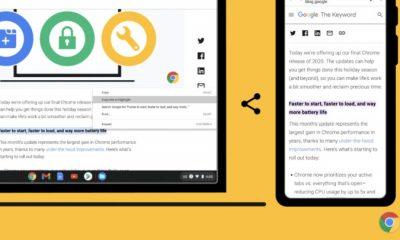 Chrome highlight ekleme özelliğini getirdi