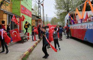 Büyükşehir, kırsalda ve şehirde 23 Nisan kutlamaları gerçekleştiriyor