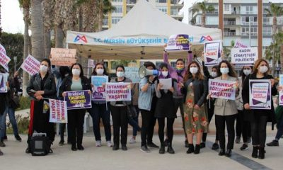 AKP'li belediye 8 Mart'a katılan 3 kadını işten çıkardı iddiası