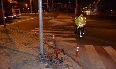 Kamyonun çarptığı bisikletli Yusuf öldü