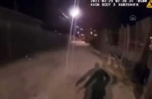 ABD polisinin, 13 yaşındaki çocuğu vurduğu anların görüntüleri ortaya çıktı