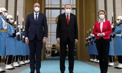 Erdoğan'la görüşen AB heyetinden Demirtaş ve Kavala açıklaması