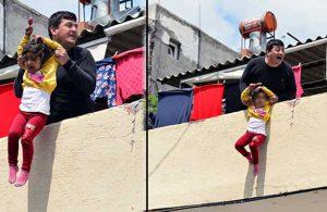 'Onun kanı akarsa büyü bozulacak' diyerek kızını aşağı atmaya çalışan baba tutuklandı