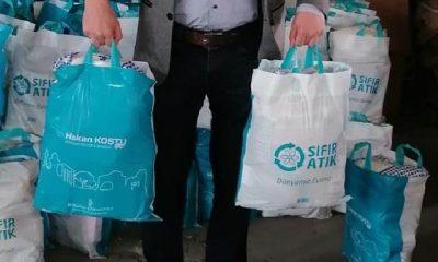 AKP'li belediye 6 ay beklettiği deprem kolisini Ramazan yardımı olarak dağıttı