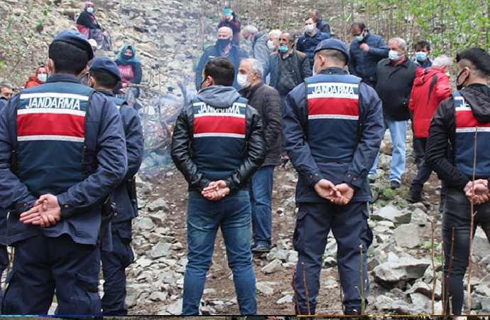 Rize halkı doğasına göz koyan Cengiz İnşaata karşı direniyor