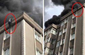 Yangından kurtulmak için 6. kattan atladı, hayatını kaybetti