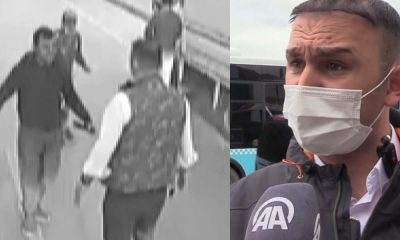 Yol kenarında kadını darp eden kişiye müdahale eden otobüs şoförü takdir topladı
