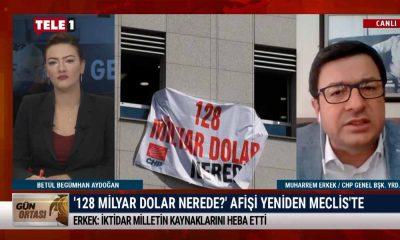 CHP'li Erkek: 128 milyar doları da FETÖ'nün siyasi ayağını da sormak en doğal hakkımızdır – GÜN ORTASI