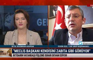 Özgür Özel: Şentop'un üzerinde Saray baskısı var. Erdoğan'ın sinirini bozacak bir şey yapmak istemiyor – GÜN ORTASI