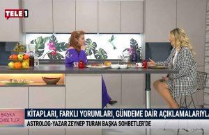 Astrolog- yazar Zeynep Turan 'Başka Sohbetler'de – BAŞKA SOHBETLER