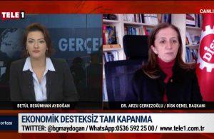 Arzu Çerkezoğlu: AKP'nin uygulamış olduğu politikalar sınıf ayrımcılığı üzerine kurulu – GÜN ORTASI