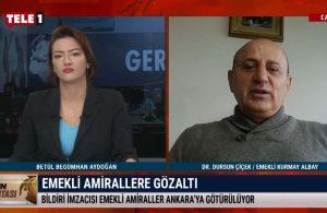 Emekli Kurmay Albay Çiçek: Bu 'sindirme' yöntemini Türk adaletine yakıştıramıyorum – GÜN ORTASI