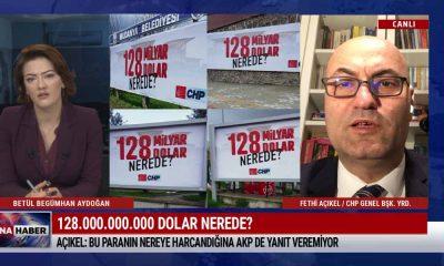 CHP Genel Başkan Yardımcısı Açıkel: Bu paranın nereye harcandığına AKP de yanıt veremiyor – HAFTA SONU ANA HABER