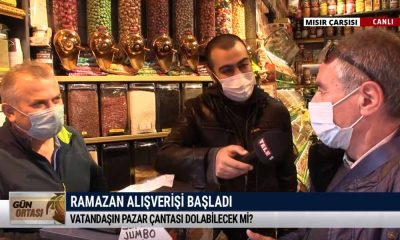 TELE1 ekibi Mısır Çarşısı'nda: Bu işin altında bir çapanoğlu var – GÜN ORTASI