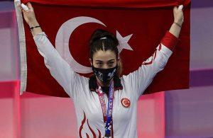 Avrupa Halter Şampiyonası'nda Berfin Altun'dan bronz madalya