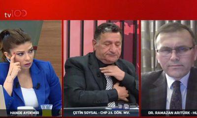 CHP'li eski vekil Çetin Soysal canlı yayında kalp krizi geçirdi