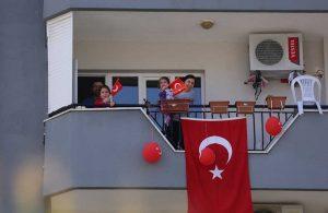 Efeler Belediyesi 23 Nisan coşkusunu evlere götürdü