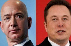 Rekabet kızışıyor! Jeff Bezos'tan 'Elon Musk' hamlesi