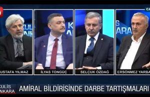 AKP kurucularından Ersönmez Yarbay: Amirallerin güvenliğini çekmek bir yana arttırılmalı