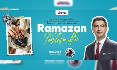 Başkan Gökhan Yüksel'den Ramazan ayı mesajı
