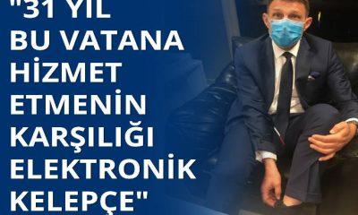 Emekli Amiral Ertürk elektronik kelepçe ile TELE1'de canlı yayına çıktı