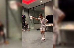 Beşiktaşlı Karabulut'un halay videosu sosyal medyanın gündeminde