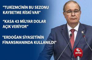 CHP'den Merkez Bankası başkanına '128 milyar dolar' cevabı