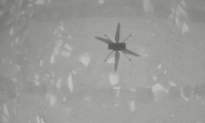 Mars'ta bir ilk: Mini helikopter uçuş görevini tamamladı