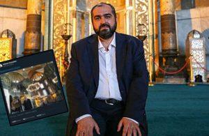 Ayasofya imamı giderayak siyasete göz kırptı
