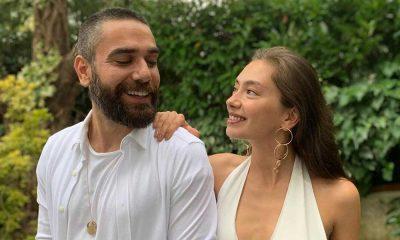 Neslihan Atagül ve eşi Kadir Doğulu'nun öpüştüğü fotoğraf olay oldu