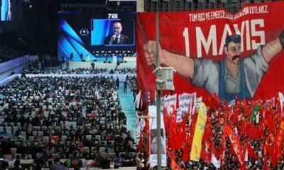 AKP kongreleri serbest, 1 Mayıs yasak!