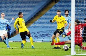 Manchester City, Dortmund'u yendi