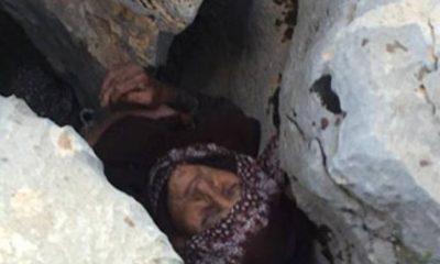 Yaşlı kadın kurtarılamadı