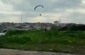 Büyükçekmece'de paramotor ile uçan 4 kişiye ceza