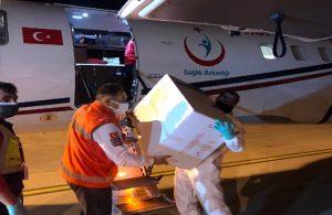 Türkiye'den KKTC'ye aşı gönderildi