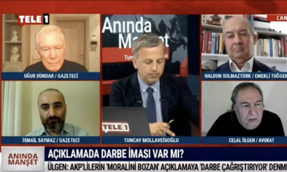 Celal Ülgen ilk kez TELE1'de duyurdu: Gözaltına alınan emekli amirallerden açıklama