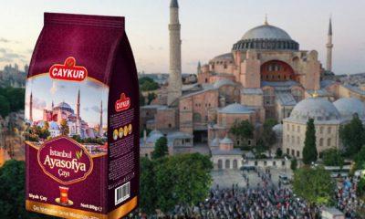 574 milyon lira zarar eden ÇAYKUR'dan Ayasofya'ya özel çay