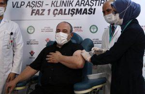 Mustafa Varank yerli aşı oldu