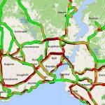 İstanbul'da trafik yoğunluğu yüzde 71'e ulaştı
