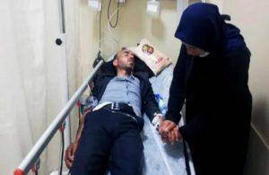 Darp edilen Ferit Şenyaşar hastaneye kaldırıldı