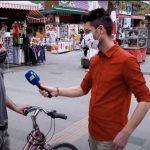 Vatandaş: Bisikletten başka bir şeyim yok ama Erdoğan'dan başkasına oy vermem